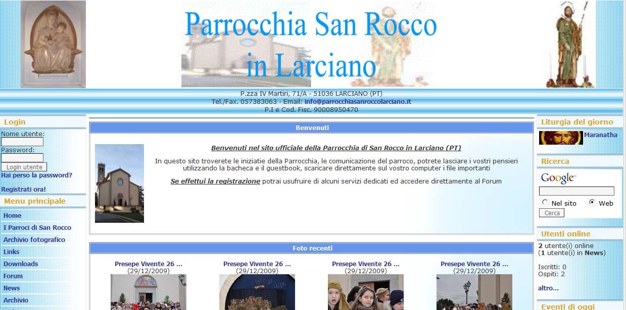 Parrocchia di San Rocco in Larciano